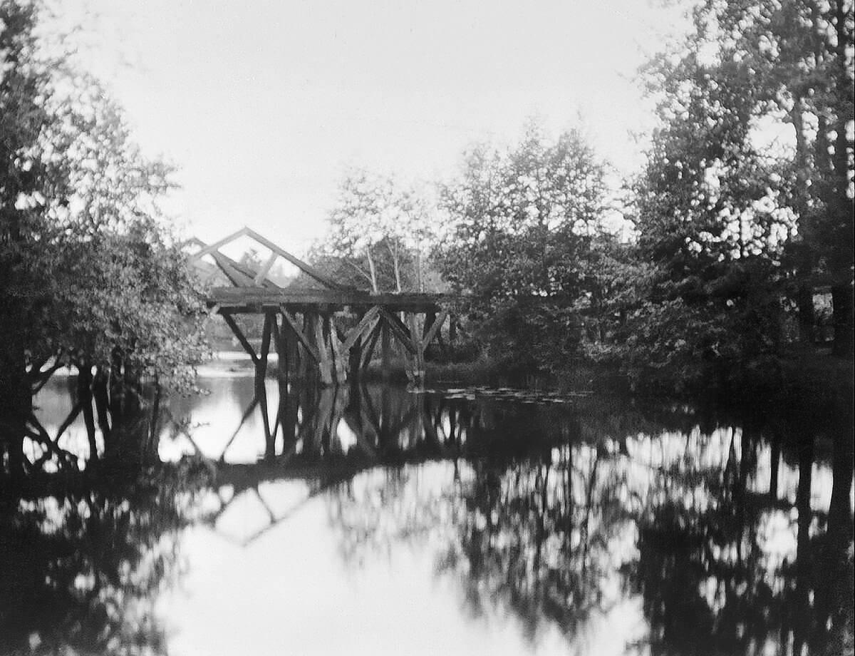 Bron över Hammardammen