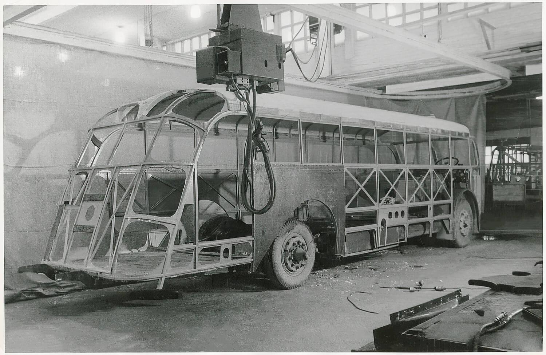 Scania Vabis Buss karosstillverkning