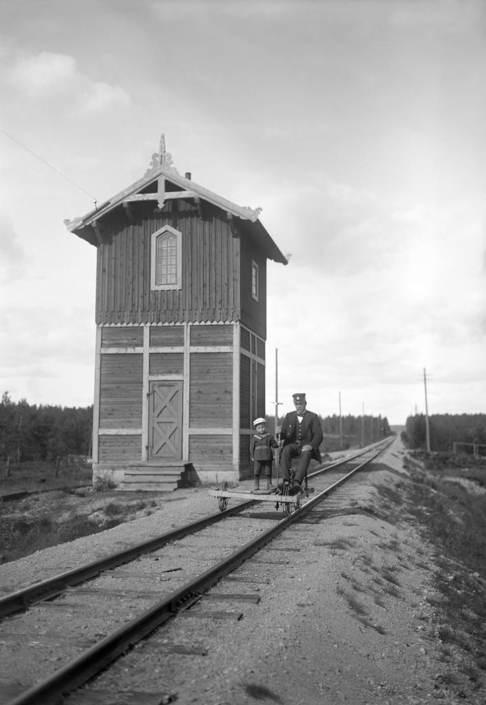Vattentornet i Munkfors Ransäter